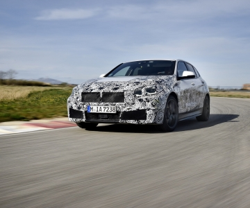 BMW M135i em testes