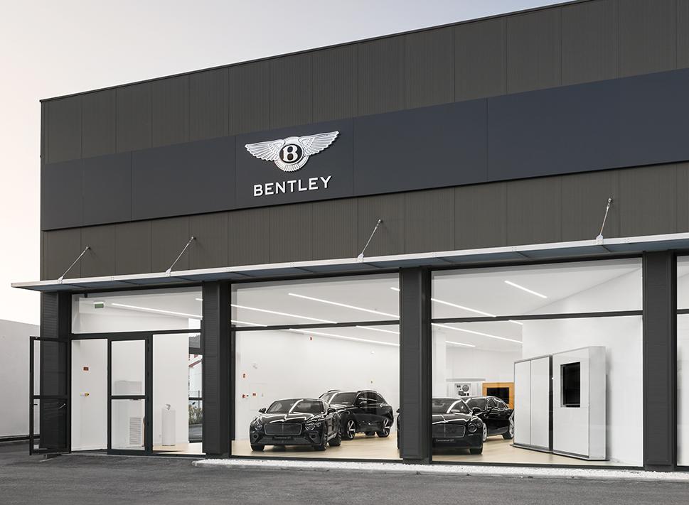 Stand da Bentley foi inaugurado a 28 de março