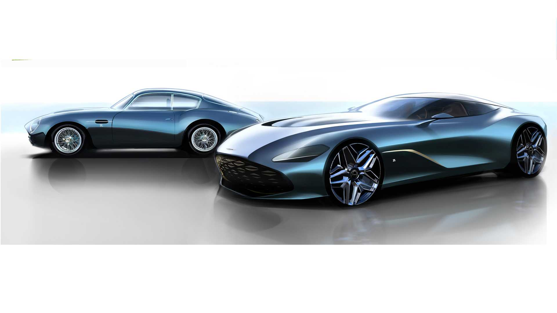 Aston Martin DB4 GT Zagato Continuation e DBS GT Zagato