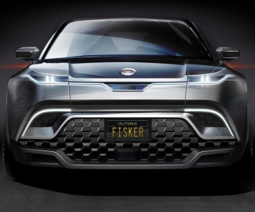 Teaser do futuro SUV da Fisker