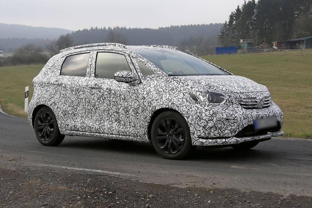 Novo Honda Jazz em testes