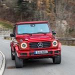 Mercedes-Benz G400d na calha