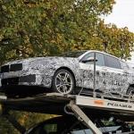 Novo BMW Série 1, ainda camuflado