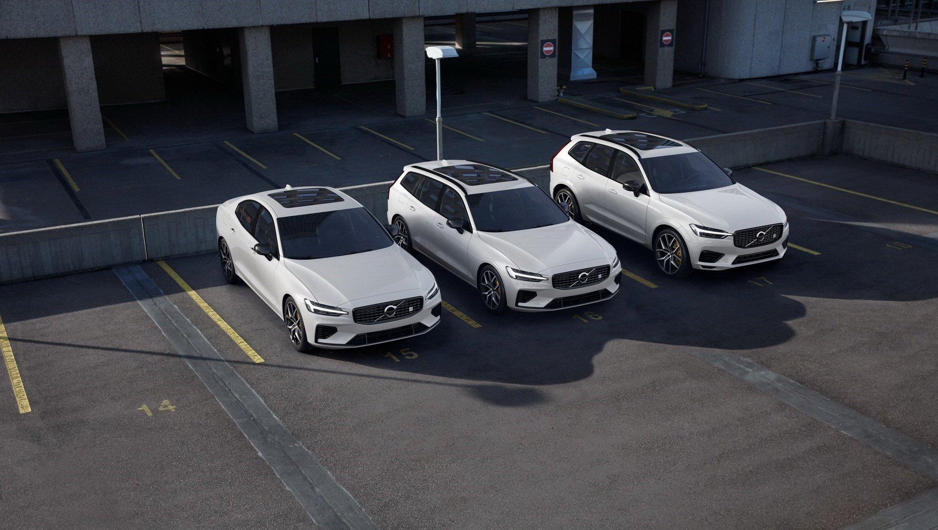 Depois do S60, as versões híbridas plug-in desportivas Polestar Engineered chegam ao XC60 e ao V60