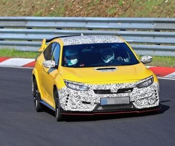 Protótipo do Honda Civic Type R