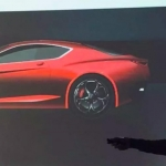Sketch do novo Alfa Romeo GTV