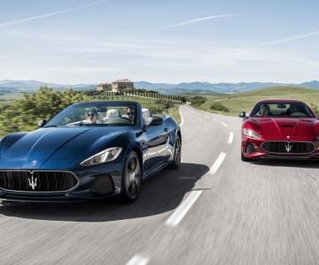Maserati GranTurismo e GranCabrio da geração atual