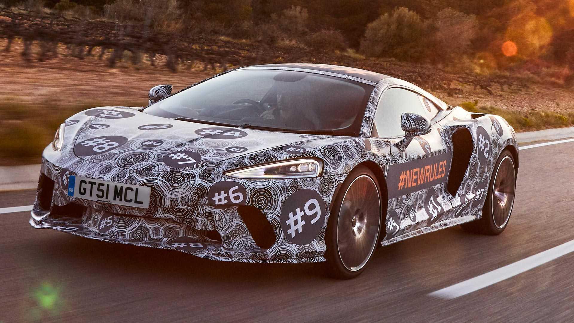 McLaren Gran Tourer ainda camuflado