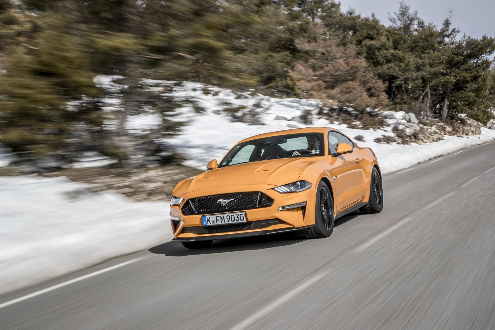Ford Mustang da geração atual