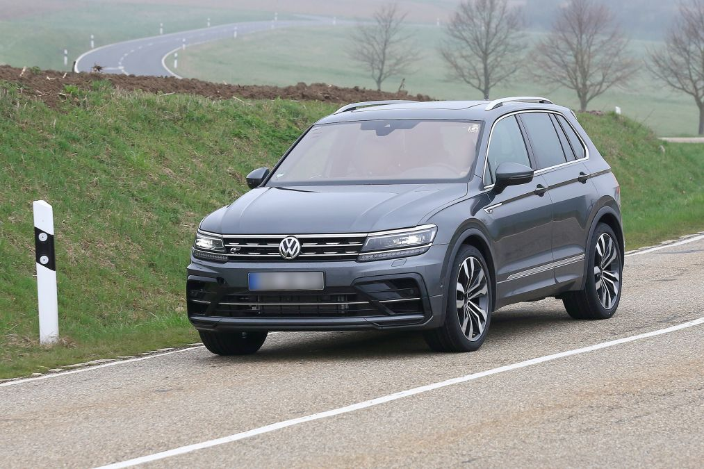 VW Tiguan R em testes