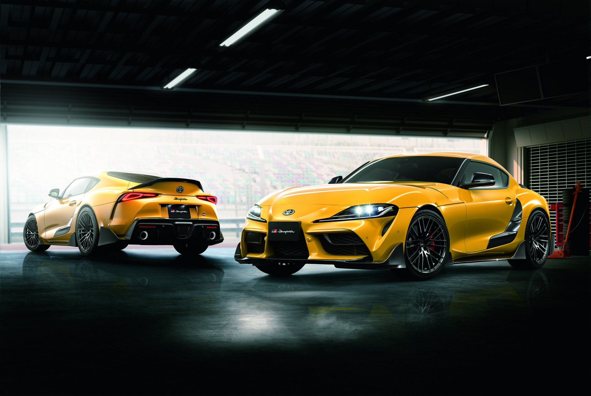 Toyota Supra TRD Performance Parts