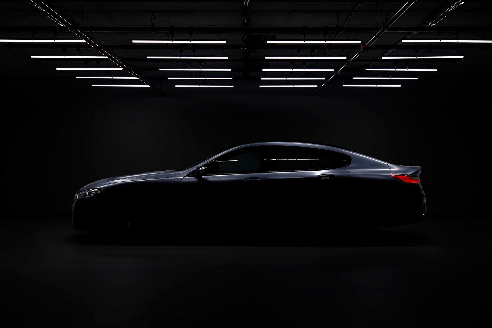 Teaser do novo BMW Série 8 Gran Coupé