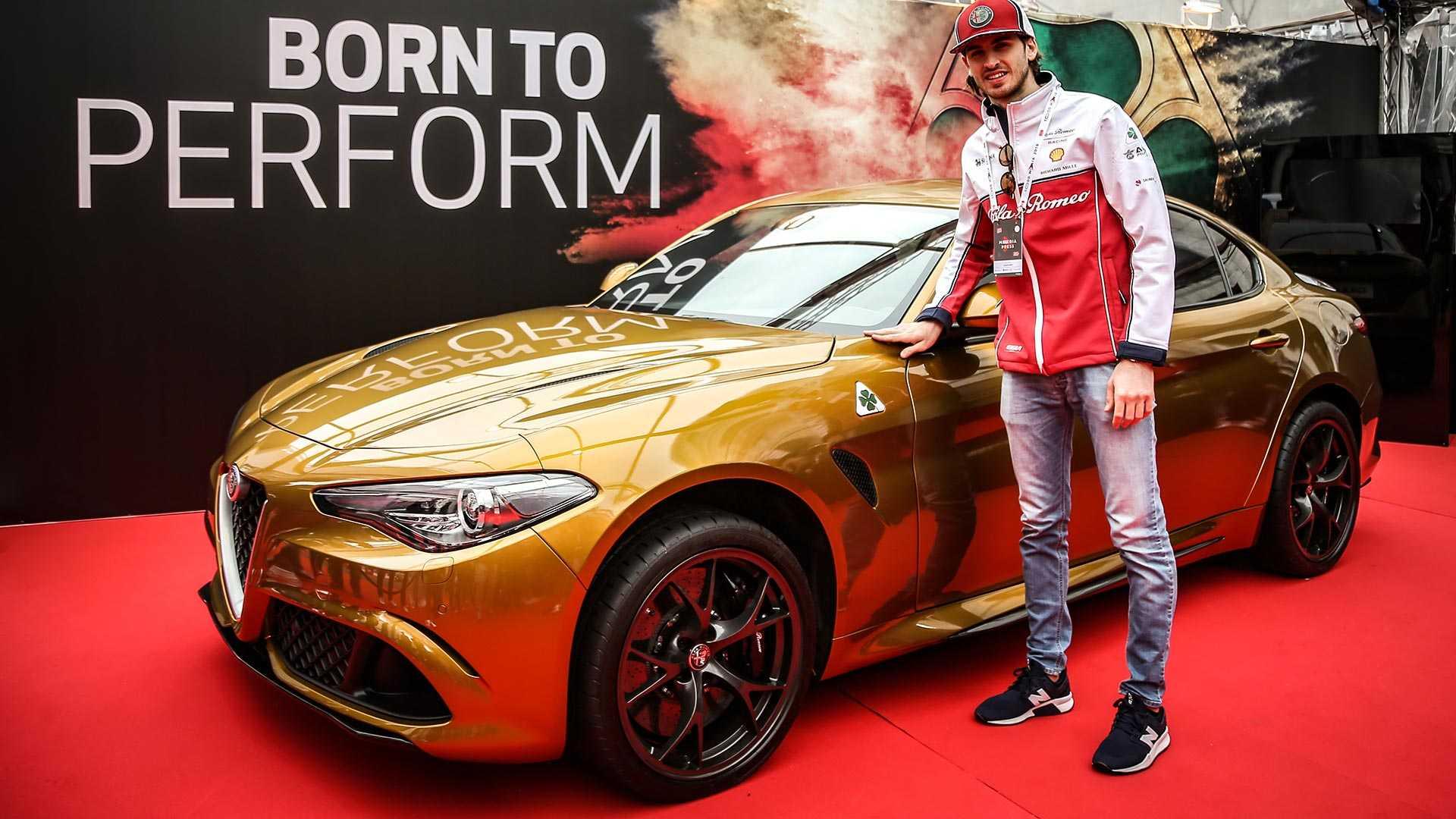 "Alfa Romeo Giulia Quadifoglio ""one off"""