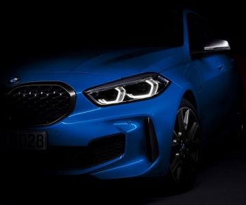 Teaser do novo BMW Série 1