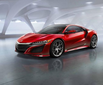 Acura NSX terá versão Type R