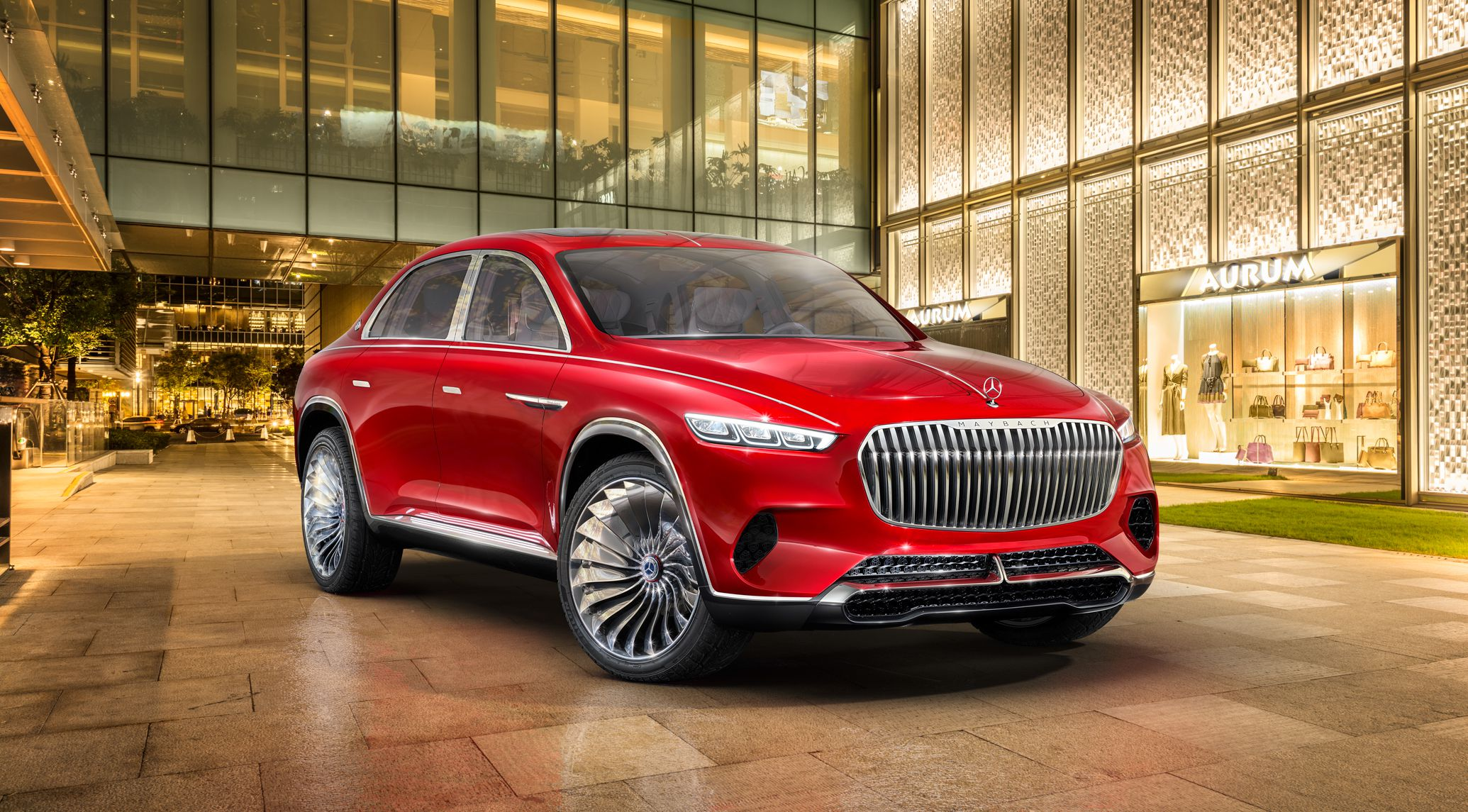 Mercedes-Maybach Vision-Ultimate Luxury Concept