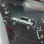 Interior do novo Land Rover Defender