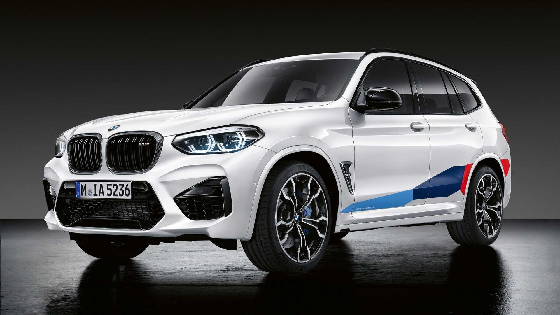 BMW X3 M e X4 M com acessórios M Performance