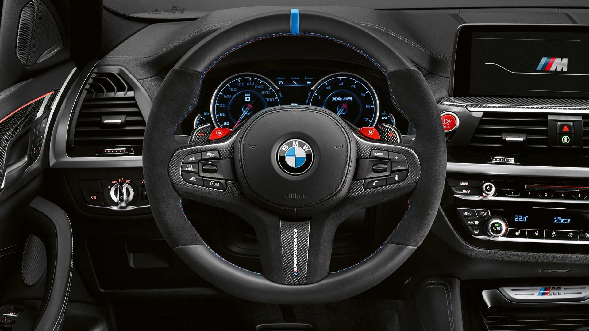 Bmw Mostra X3 M E X4 M Com Kit M Performance Auto Drive