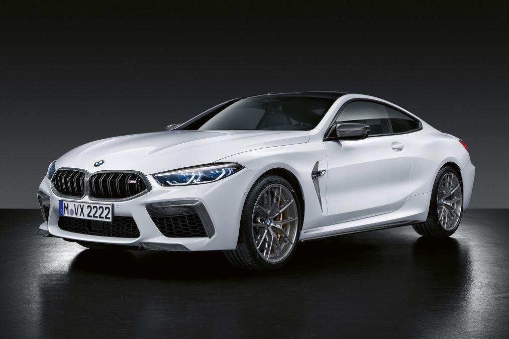 BMW M8 Competition com acessórios M Performance