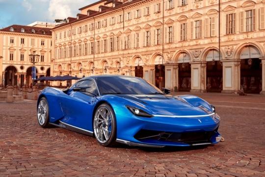 Pininfarina Battista facelift
