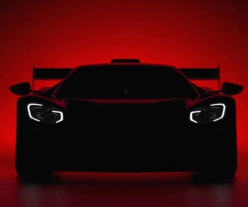 Teaser de nova variante do Ford GT que estreará no Festival de Goodwood