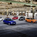 Audi comemora 25 anos dos RS