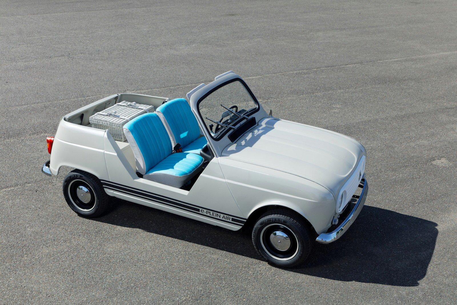 Renault e-plein air concept