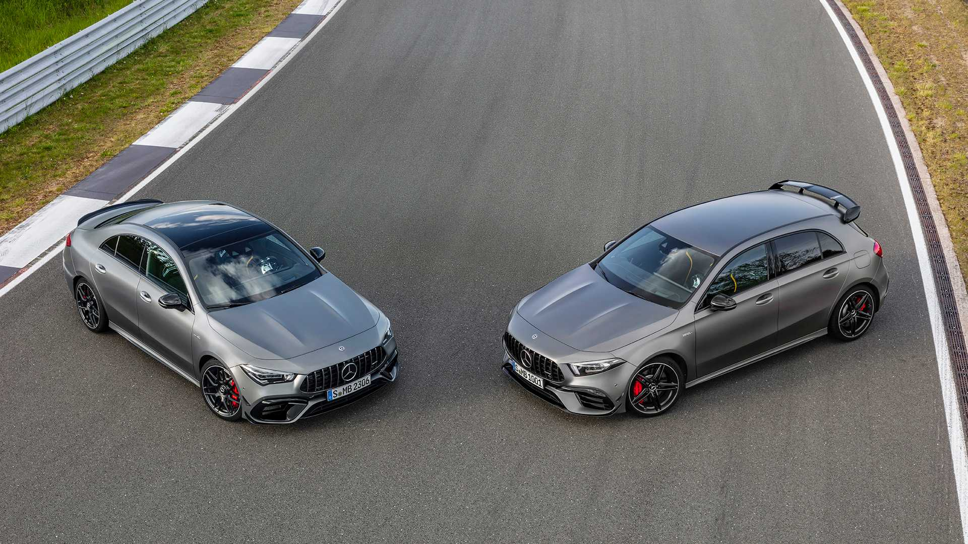 Mercedes-AMG A 45 4Matic+ e CLA 45 4Matic+