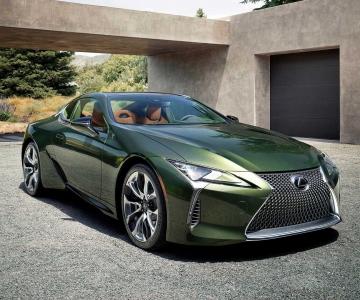 Cor Terrane Khaki é exclusiva desta edição especial do Lexus LC