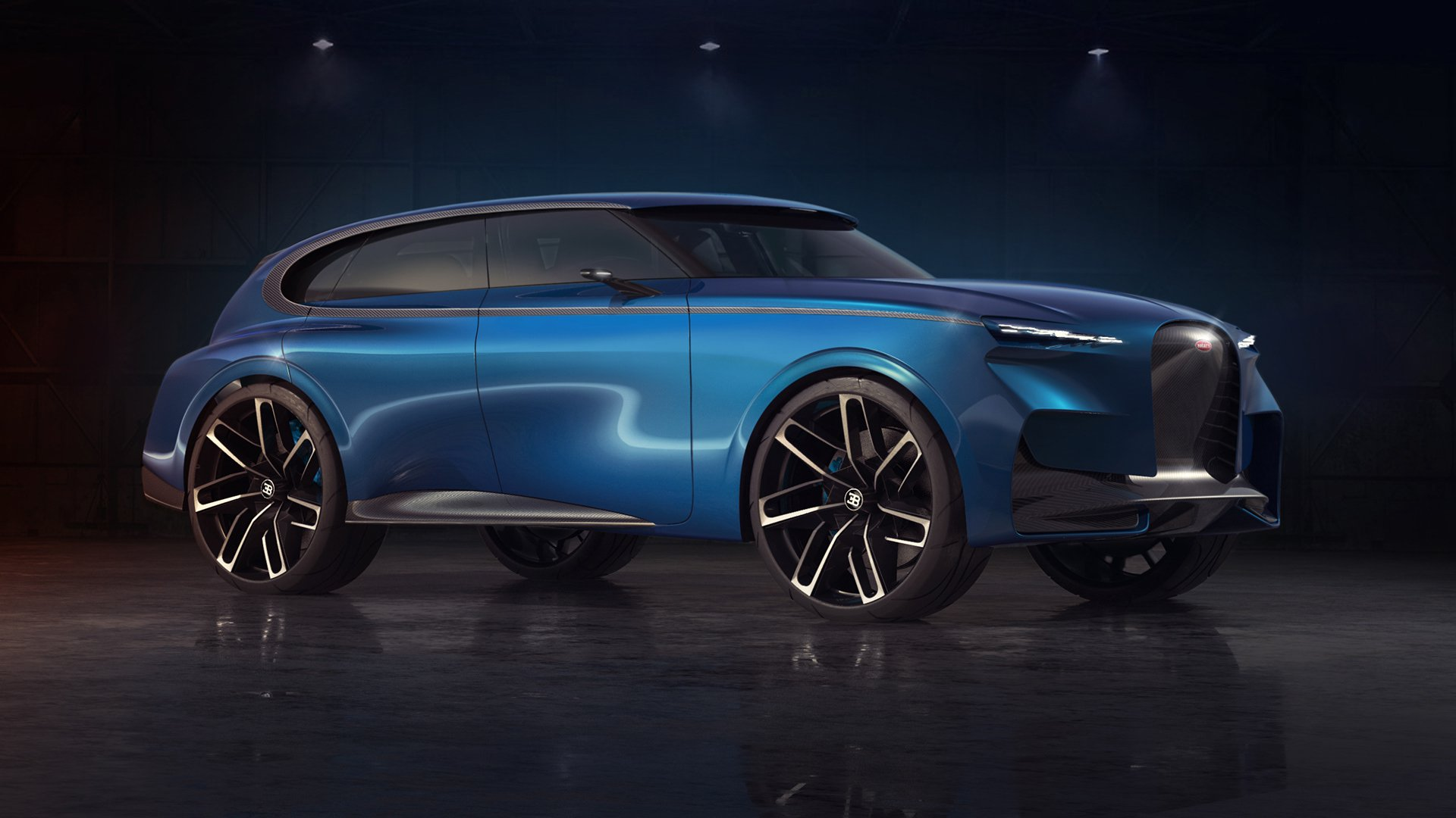 Próxima aposta da Bugatti será um SUV
