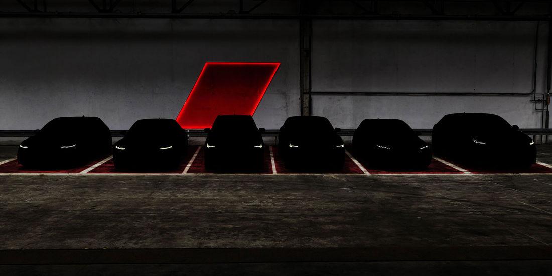 Teaser de seis novos Audi RS