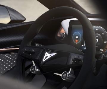 Cupra Concept interior teaser