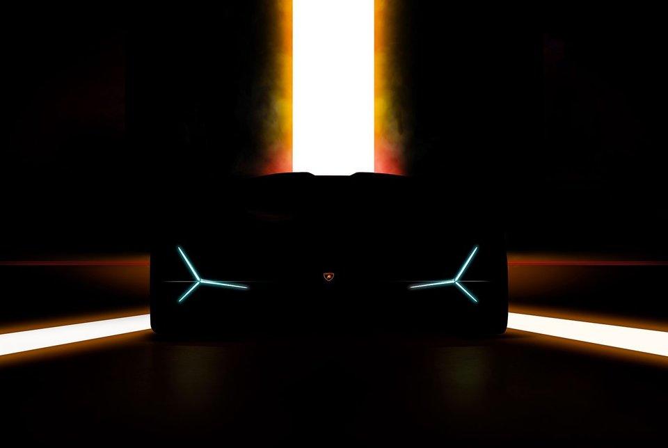 Lamborghini Unico teaser