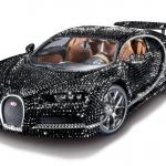 Bugatti Chiron com cristais Swaroski agora em miniatura