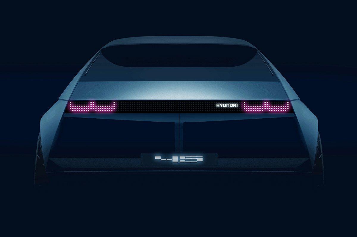 Hyundai 45 EV Concept teaser