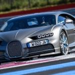 Bugatti Chiron no circuito de Paul Ricard