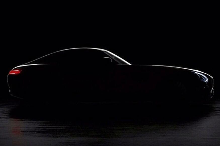 Silhueta do atual Mercedes-AMG GT