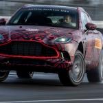Aston Martin DBX ainda está em fase de testes