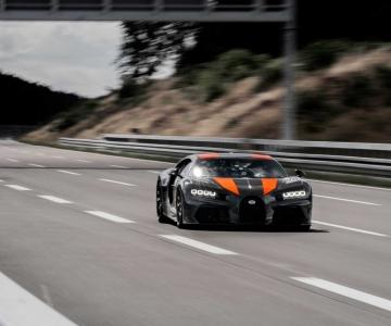 Bugatti Chiron Sport construído para o recorde
