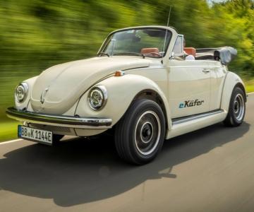 VW e-Beetle clássico
