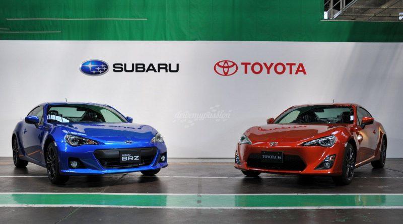 Dupla Toyota GT86 e Subaru BRZ com sucessão confirmada