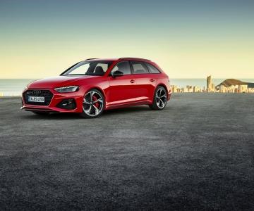 Audi RS4 Avant facelift