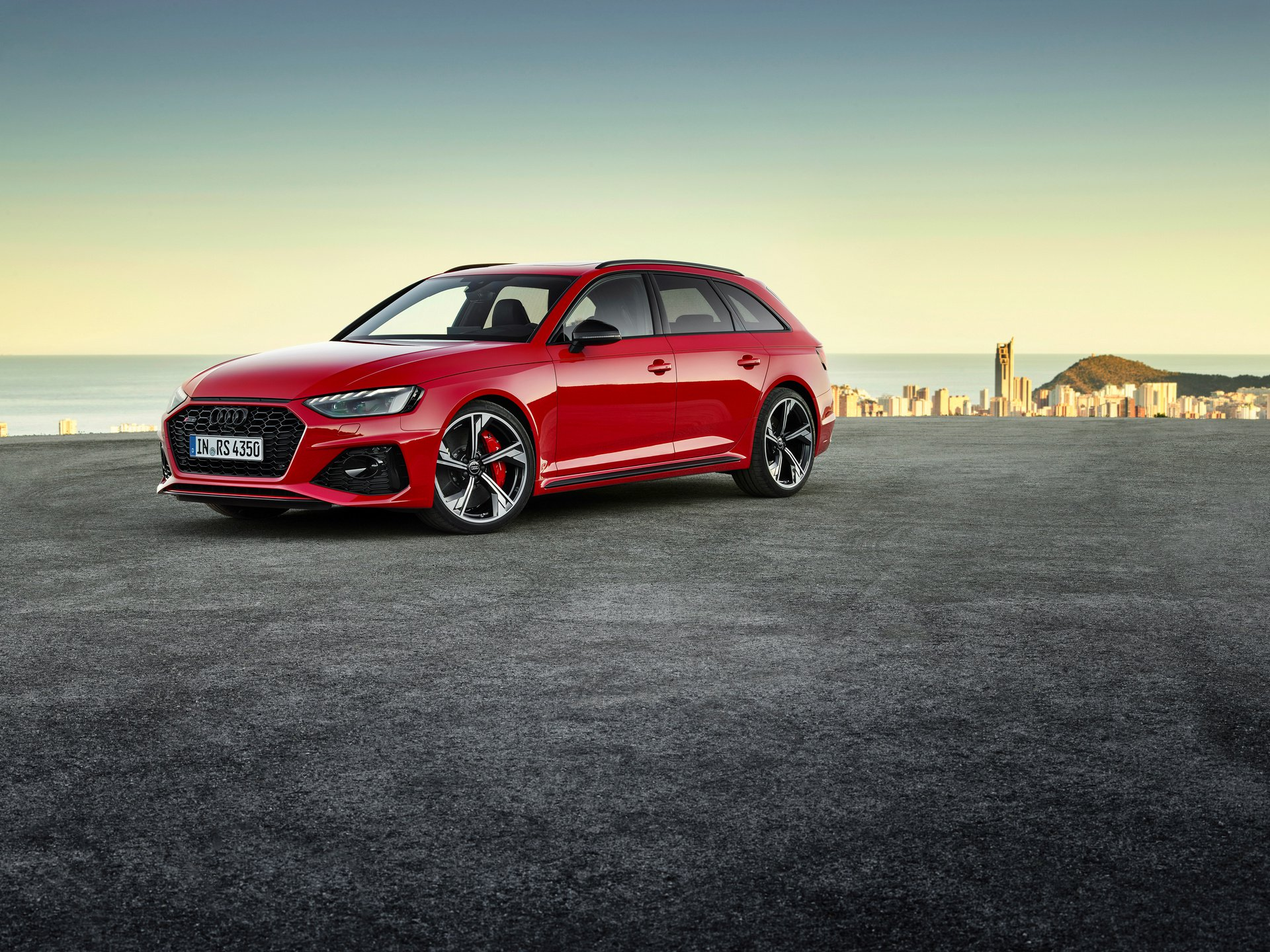 Audi RS4 Avant facelift