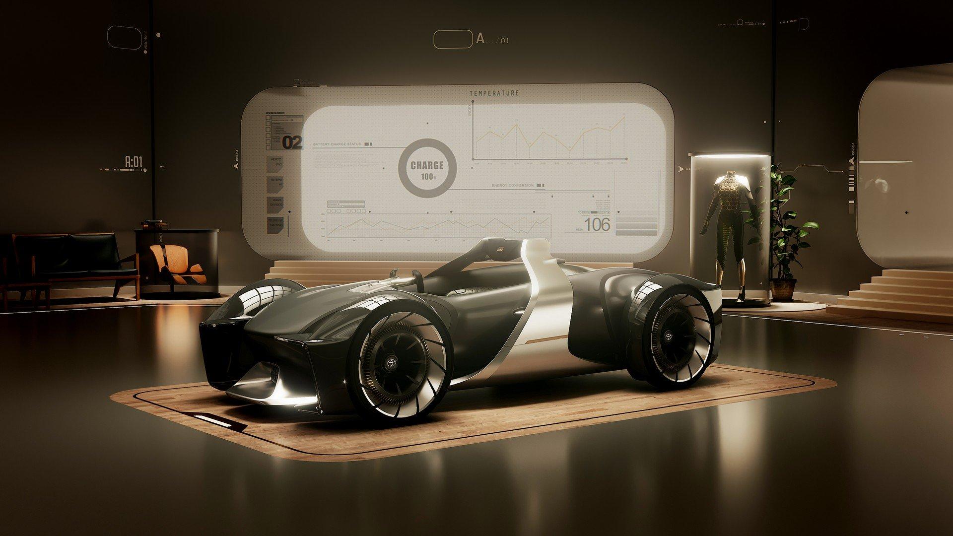 Toyota e-Racer concept