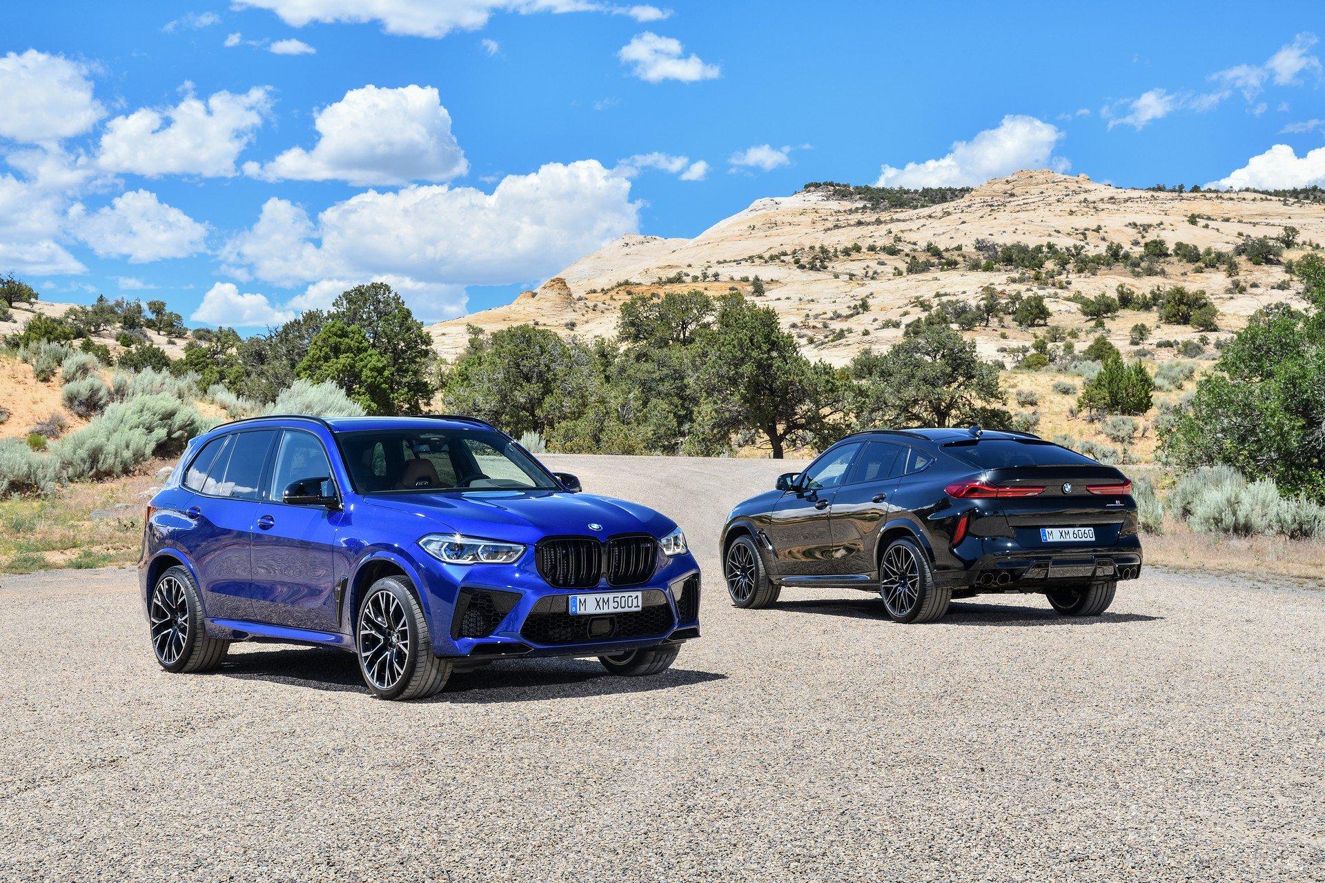 BMW X5 M e X6 M Competiton