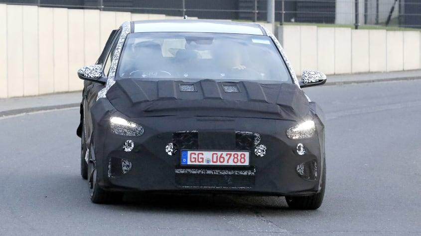 Renovado Hyundai i30N em testes