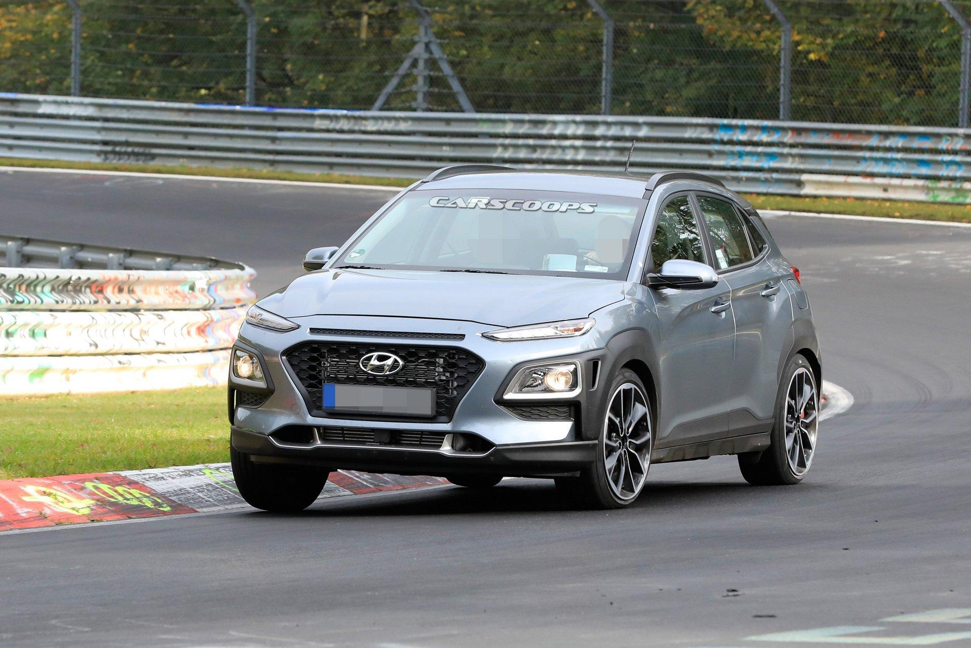Hyundai Kauai N testa em Nürburgring