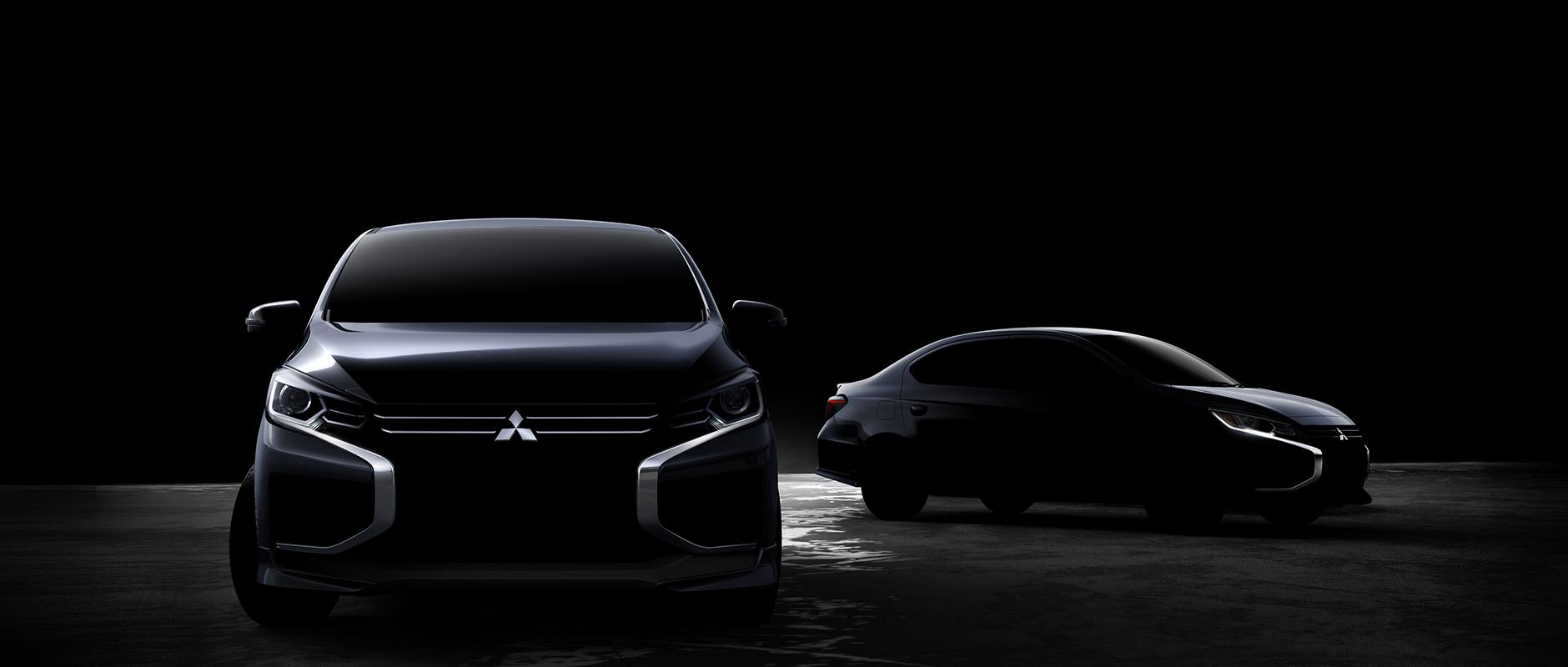 Teaser do facelift do Mitsubishi Space Star