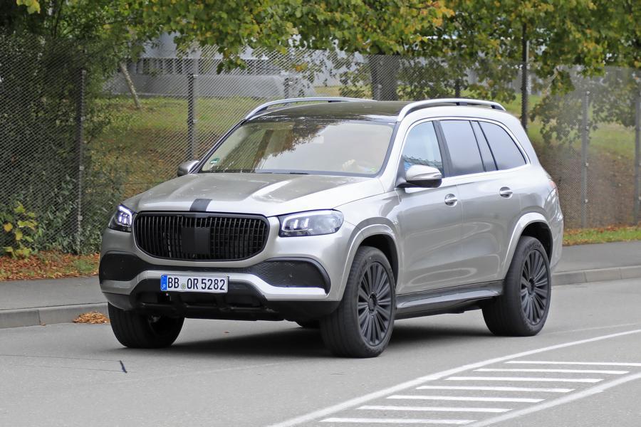 Mercedes-Maybach GLS em testes